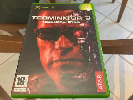 Terminator 3 Xbox Clássico Novo Lacrado Raro