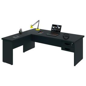 Mesa Para Escritório Em L Tpo30mm 1.50x1.60   Várias Cores