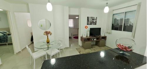 Apartamento Em Vila Miranda, Itaquaquecetuba/sp De 40m² 2 Quartos À Venda Por R$ 195.000,00 - Ap622614