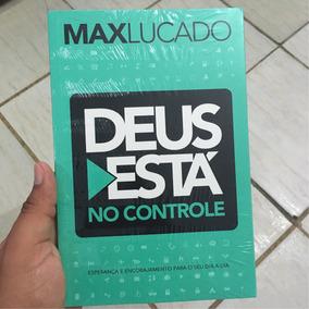 Livro - Deus Está No Controle - Max Lucado