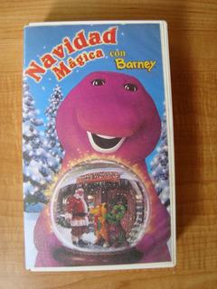 Navidad Mágica Con Barney - Vhs