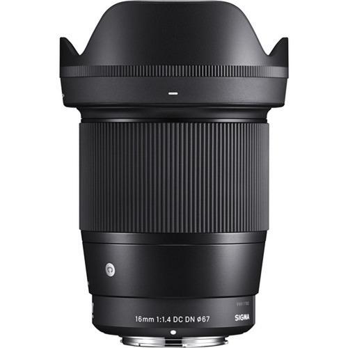Imagem 1 de 5 de Lente Sigma 16mm F/1.4 Dc Dn Para Sony E - Lj. Platinum