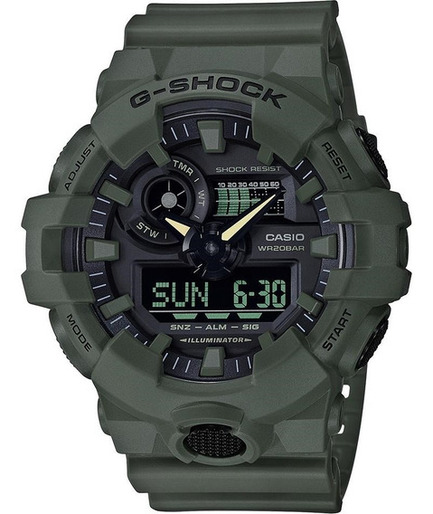 Reloj Casio G-shock Ga-700uc Utility Color