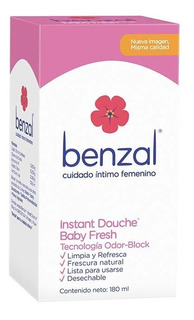 Benzal Instant Douche Baby Fresh 180 Ml