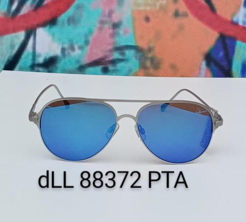 Oculos De Sol Espelhado Aviador Dellases & Co Unissex