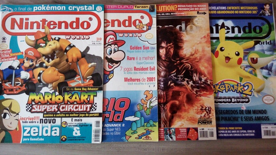 Lote Revista Nintendo World Mario Prince Of Persia Pokemon