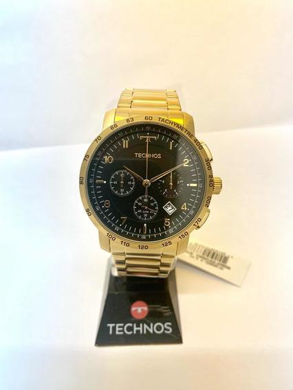 Relógio Technos Masculino Dourado 6s20aa/4p