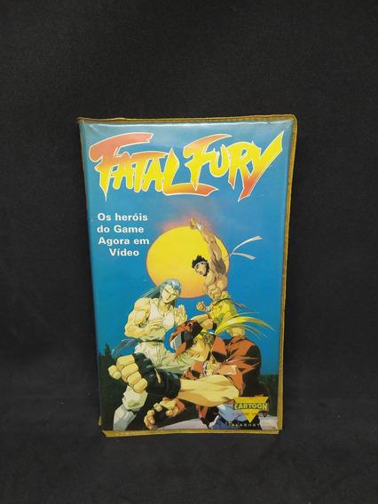 Fita Vhs Fatal Fury Dublado Coleção