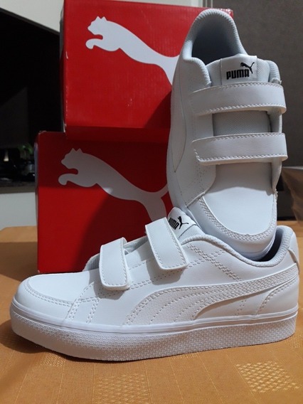 Calzado Colegial Puma Court Point Vulc