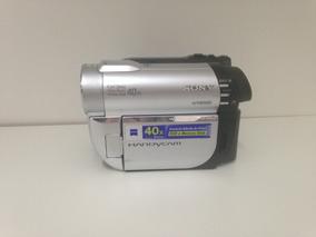 Filmadora Sony Handycam Dcr-dvd 610 + Cartão De Memória 1gb.