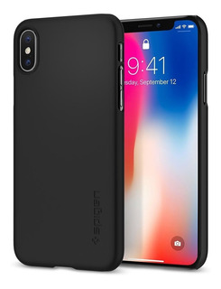Capa Spigen Original Apple iPhone X E Xs Thin Fit Preto