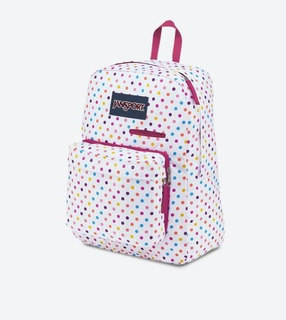 Mochila Jansport Digibreak Spot O Rama White Dots