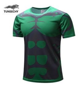 Camisa Camiseta Hulk Pronta Entrega - -