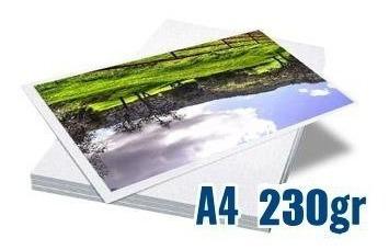 Papel Fotografico Glossy Premium 230gr 15 Pct 20 Fls