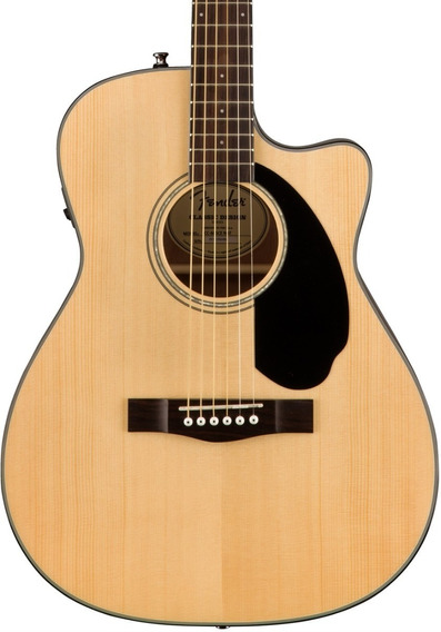 Guitarra Electro Acústica Fender Cc-60sce Natural Envío Cuot