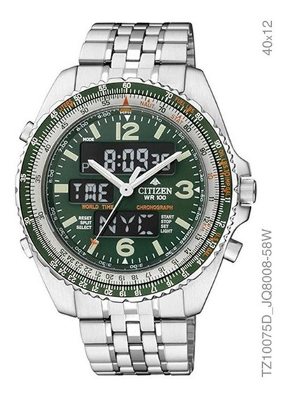 Relógio Citizen Promaster Masculino Prata Tz10075d