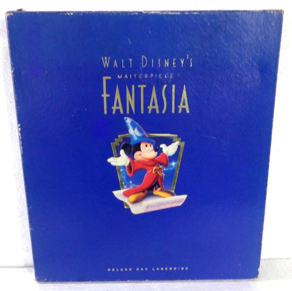 Laserdisc Walt Disney´s Masterpiece Fantasia Triplo