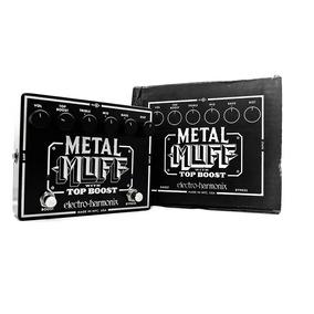 Pedal Electro Harmonix Metal Muff C/ Top Boost Para Guitarra