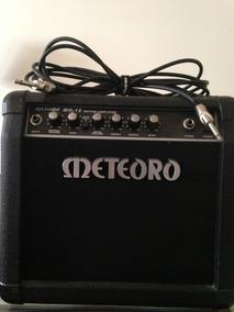 Amplificador Meteoro Guitarra Mg-15 + Cabo P10 Santo Angelo