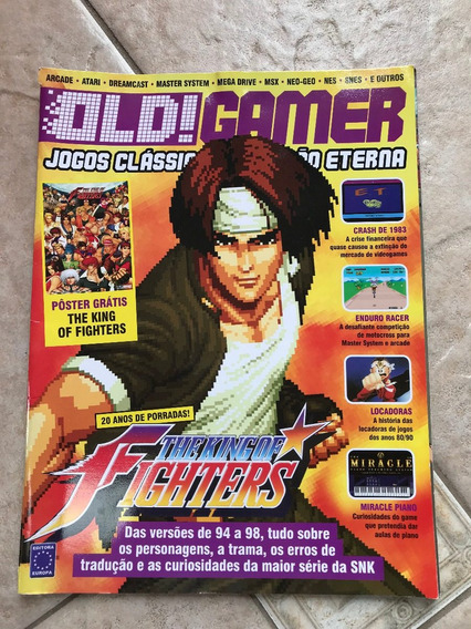 Revista Old Gamer The King Of Fighters Jodge Dreadd F753
