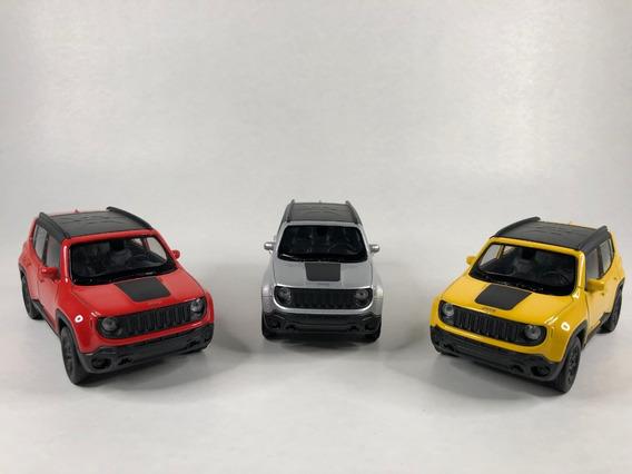 Miniatura Jeep Renegade 2017 Varias Cores Em Metal Promoção