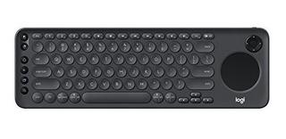 Logitech K600 - Teclado De Tv Con Panel Tactil Y D-pad Integ