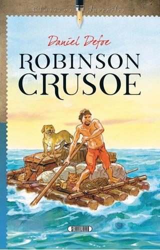 Libro. Robinson Crusoe, Daniel Defoe. Servilibro