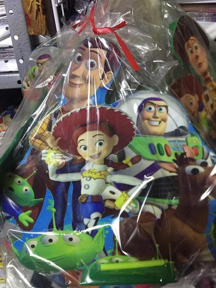 Porta Vela Con Velita Toy Story Pastel