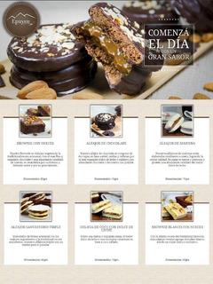 Delicias Epuyen - Brownies, Alfajores Y Cuadrados Dulces