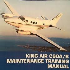 Livro King Air Pilot Training Manual Models F90 / F90 1