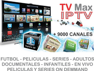 Demo Gratis 4hs. Cable X Internet +9000 Canales Iptv