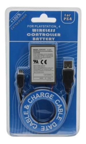 Bateria Ps4 Play 4 3.7v 2000mah Cable Titan Belgrano