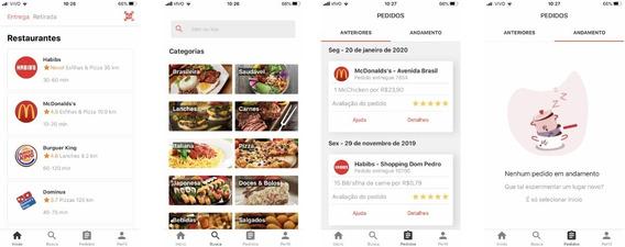 Script Clone Ifood - App Android - Delivery De Comida