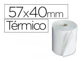 Rollos Térmicos 57x40 Blancos Punto De Venta, A Domicilio