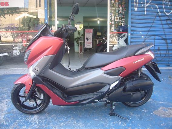 Yamaha Nmax 160 Ano 2019 Abs Vermelha Troca Financia