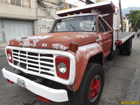 Camion Plataforma Ford 750