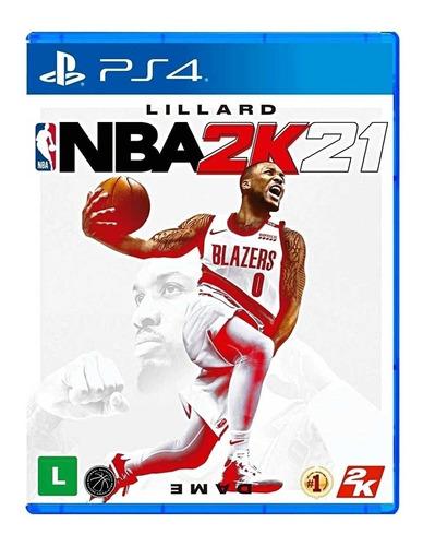 Imagen 1 de 6 de NBA 2K21 Standard Edition 2K PS4 Físico
