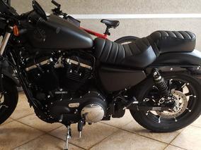 Harley Davidson Iron 883cc Ano 2019, Moto Com Apenas 92km.