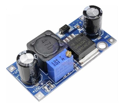 Módulo Convertidor Lm2596 Step-down Dc-dc In 4-40v 3a Máx