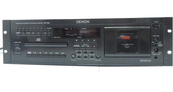 Denon Dn T620 Professional Cd Player Tape Deck