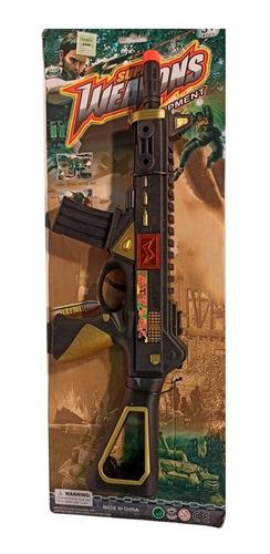 Pistola De Juguete Con Sonido Para Niños 40 Cm Cuotas