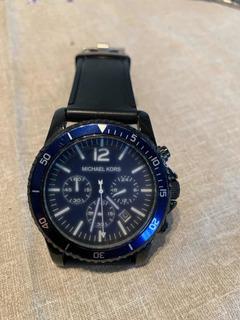 Reloj Pulsera Michael Kors Mk-8165 Azul Cronometro