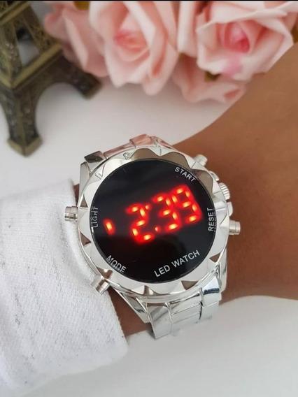 Relógio Feminino Digital Led Vários Modelos + Caixa Grátis