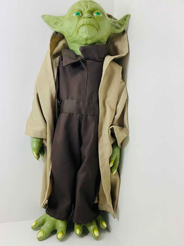 Miniatura Boneco Mestre Yoda Star Wars 47 Cm Original Disney