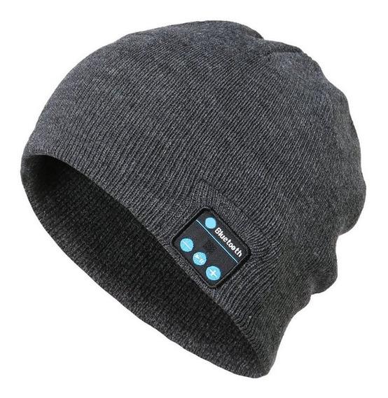 Bluetooth Música Sombrero Invierno Caliente Gorros De Punto