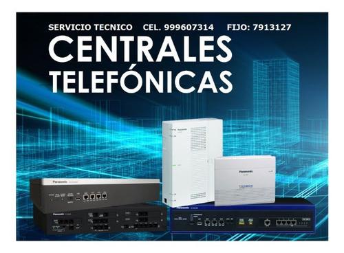 Centrales Telefónicas Instalación Redes Cámaras Reparaciones