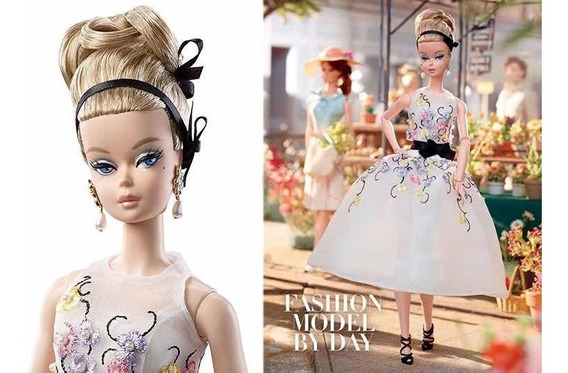 Barbie Silkstone Classic Cocktail Dress Poseable- Articulada