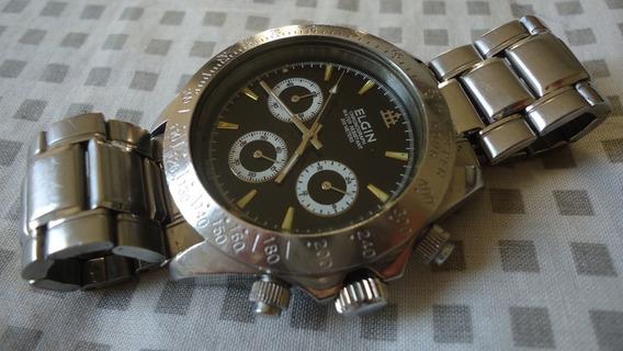 Relogio Elgin Chronograph 200 Mts Lindo Para Uso Ou Coleção