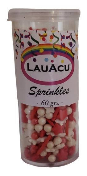 Sprinkles De River/independiente Blan Y Rojo 60grs. / Lauacu