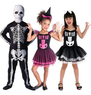 Disfraz Halloween De Bruja O Esqueleto Original Sulamericana